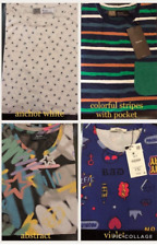 Men`s Shirt Set #1 (Colorful Stripes With Pocket) - Small