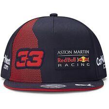 Red Bull Racing F1 2020 Team Max Verstappen Flatbrim Hat Navy