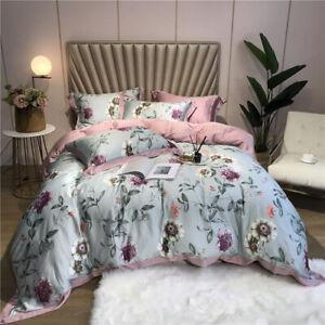 2021 Home Luxury 4-piece Bedding Set Luxury Duvet Cover Sheet Top