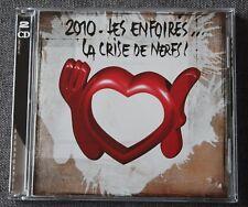 Les Enfoirés - restos du coeur, 2010 la crise de nerfs - goldman alizée ect, 2CD