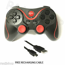 RECARGABLE BLUETOOTH INALÁMBRICO GAMEPAD CONTROLADOR PARA PS3 ROJO