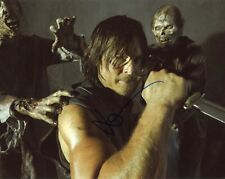 """~~ NORMAN REEDUS Authentic Hand-Signed """"THE WALKING DEAD"""" 8x10 photo D~~"""