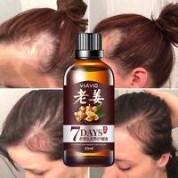 30ml Regrow Ginger Fast Germinal Serum Essence Oil Hair Loss Treatement Growth M