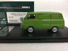 1/43 HI STORY HS196GR MAZDA BONGO 1000 ROUTE VAN 1968 GREEN resin model car