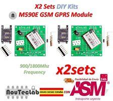 2Sets M590E GSM GPRS Module DIY Kits M590 GSM GPRS