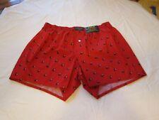 Polo Ralph Lauren underwear mens lounge classic boxer shorts L LG red wine glass
