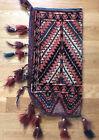 Antique Turkomen Arrow Bag Circa 1910 Excellant Condition Vegetable Dyed, 1ftx2f