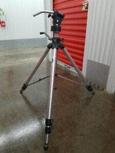 Estate Bogen Manfrotto 3036 Professional Tripod with Most of Bogen 3047 Head.