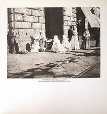 STAMPA FOTO ALINARI, VENDITRICI DI UOVA, Messina, inizi '900