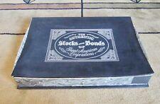Franklin Mint Authentic Stocks or Bonds of Great American Corporations NICE!!