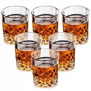 Whiskyglas Gläser Set 6tlg Kristallglas 230 ml