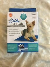 """K&H Coolin' Pet Pad Superior Cooling Power Small 11""""x 15"""" Blue Non-Toxic"""