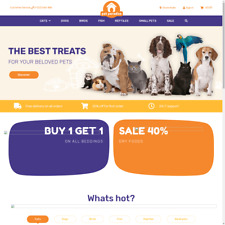 Business Opportunity Pets Dropshipping Website For Sale Complete Setup