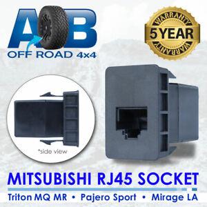 RADIO SWITCH CB UHF BLANK SOCKET RJ45 for MITSUBISHI LA TRITON MQ MR PAJERO