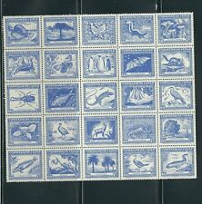 CHILE 1948 NATIONAL HISTORY by CLAUDIO GAY (Scott 254 block) VF MNH read desc