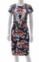 Mary Katrantzou Graphic Floral Printed Dress / Multi / RRP: £795.00. Size L