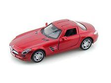 KINSMART 1:36 DISPLAY 2011 MERCEDES-BENZ SLS AMG Diecast Car Red Color KT5349D