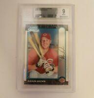 1999 Bowman Chrome #369 Adam Dunn BGS 9 MINT Cincinnati Reds RC Baseball Card