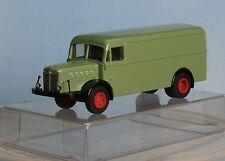 Märklin, Spur H0 /Maßstab 1:87, Büssing Kasten LKW, 2-achs., grün, Metall-Modell