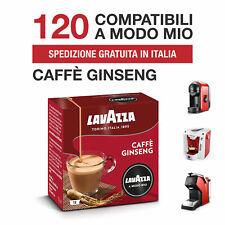 120 CIALDE CAPSULE CAFFÈ AL GINSENG LAVAZZA A MODO MIO ORIGINALI