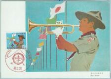 67143 - JAPAN - Postal History -  MAXIMUM CARD  1971: BOY SCOUTS