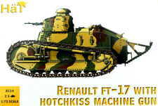 HaT 1/72: Renault FT-17 with Hotchkiss MG  (2 kits in box)