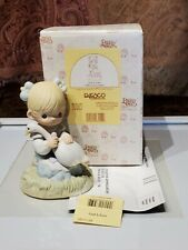 Precious Moments E-5213. God Is Love. 1980. Enesco Complete Papers & Box