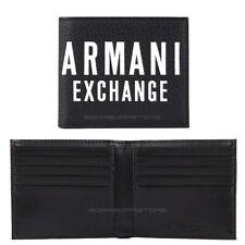 Armani Exchange men's wallet 958097 9A024  black with 8 credit card