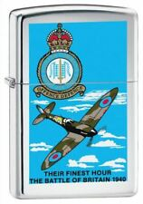 Zippo Battle Of Britain High Polish Chrome Windproof Lighter