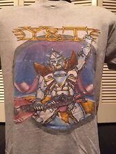 VTG 80's Y&T In Rock We Trust Tour Shirt Sz M/L Def Metal Fastway Halen Guitar