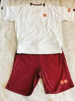 2020 Australian open UNIQLO Roger Federer Dry EX T-Shirt & Pants from Japan RF