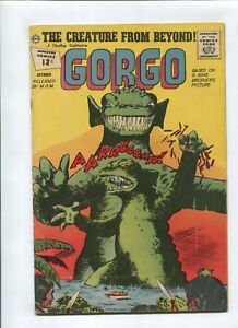 GORGO #9 (4.5) *THE FISHERMAN COLLECTION* CREATURE FROM BEYOND 1962