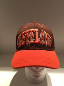 Cleveland Hat Browns Colors Adjustable. Pre-owned