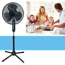 Oscillating Pedestal 16-Inch Stand Fan Quiet Adjustable 3 Speed