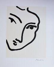 Henri Matisse Lithograph Limited Edition Nadia au Menton Pointu 1948 / 1994