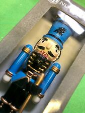 M368/60 Carolina Panthers Nutcracker Christmas Ornament NWT
