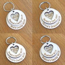 Personalised Christmas Gifts For Daddy Mummy Grandad Dad Husband Keyring Gifts