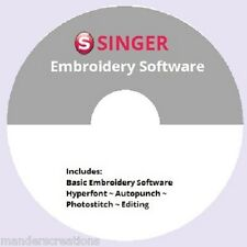 FREE Singer Futura Software~with $20 purchase of FONTS package