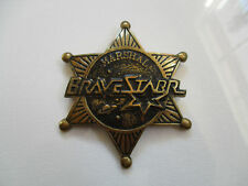 1988 Bravestarr Brave Starr Represenative Mattel Employee Toy Show Badge Pin