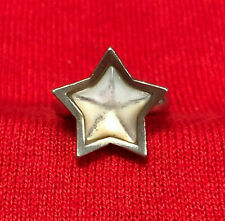 Sterling Silver 925 Star Shape Mother of Pearl Women's Ring Size 7