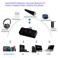 New For Nintendo Switch Wireless Bluetooth Type-C USB Adapter Audio Transmitter