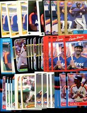 Kevin Bass Bulk Lot Of 100 Baseball Cards Astros Redwood City California