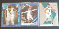 Lot (3) Malik Monk Optic Rated Rookie Blue Velocity Prizm Charlotte Hornets
