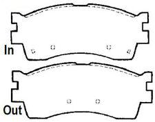 Protech Ceramic Front Brake Pad Fit 1993-2000 KIA SEPHIA SPECTRA PCD925