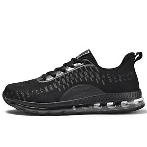 Mens Air Athletic Running Tennis Shoes Lightweight Gym Jogging Trainers