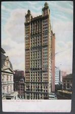 Park Row Building NYC NY 1905 Souvenir Post Card Company 2037