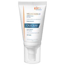 Ducray Melascreen, Dry skin, Brown spots UV RICH Cream SPF 50+.. 40ml.