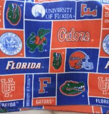""" FOOTBALL SEASON"" Florida Gator Throw/Blanket/ 74""x 60""  $35.00 ea.1 available"
