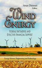 Wind Energy (Energy Science, Engineering and Technology) - New Book Desmet, Anas