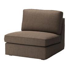 Ikea Kivik - SlipCover for One-Seat Section Isunda Brown - New Factory Sealed